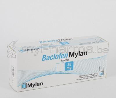 Baclofen Ratiopharm 25 Mg Tabletten ‒ Beipackzettel